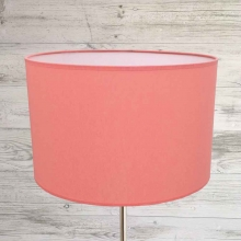 Drum Lampshade Coral